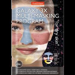 Purederm Galaxy 3X Multi-Masking Program (Dry)