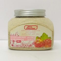 Skin Doctor Whitening Scrub for Face & Body - Cloudberry & Blossom