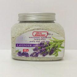 Skin Doctor Whitening Scrub for Face & Body - Lavender